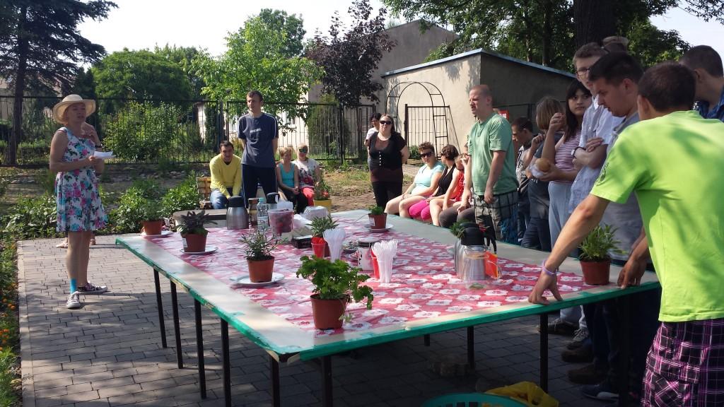 warsztaty w ogrodzie- Konin 2015